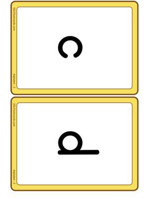 Preview of Medium, Set 2 - c k e h r m d