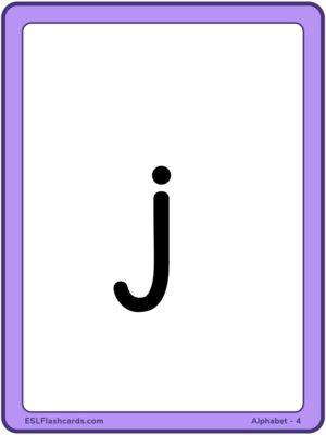 Preview of Large, Set 4 - j z w v y z