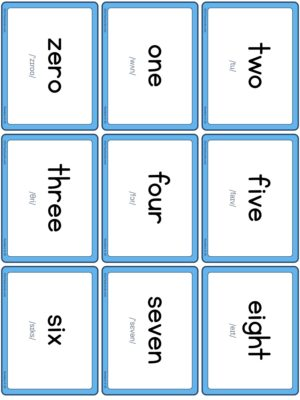 Preview of Words with IPA, Small, Solid