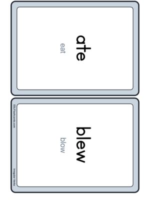 Preview of Words with base verb, Medium