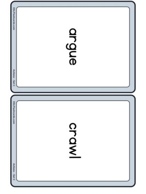 Preview of Words only, Medium