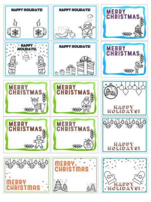 Christmas Esl Flashcards